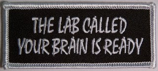 THE LAB CALLED YOUR BRAIN IS READY PATCH - HATNPATCH
