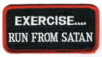 Exercise... Run From Satan Patch