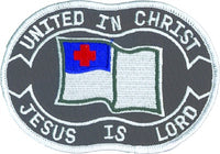 United In Christ Jesus Is Lord Patch