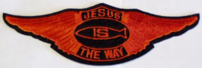 Jesus Is The Way Wing Patch - Large