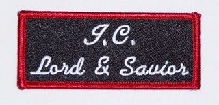 J. C. Lord and Savior Patch - HATNPATCH