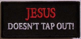 JESUS DOESN'T TAP OUT PATCH - HATNPATCH