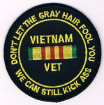 Vietnam - Gray Hair Patch