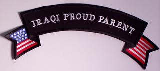 Iraqi Proud Parent Rocker PATCH - HATNPATCH