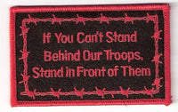 If You Can't Stand Behind, Stand In Front PATCH - 2
