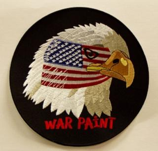 Large War Paint Patch