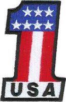 USA 1 FLAG PATCH - HATNPATCH