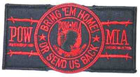 RECT BRING 'EM HOME - RED PATCH