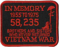 IN MEMORY - VIETNAM PATCH