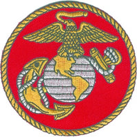 EAGLE, GLOBE AND ANCHOR PATCH