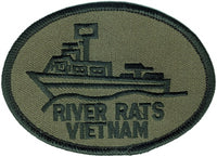RIVER RATS - VIETNAM PATCH - HATNPATCH