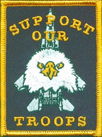 SUPPORT OUR TROOPS PATCH - HATNPATCH