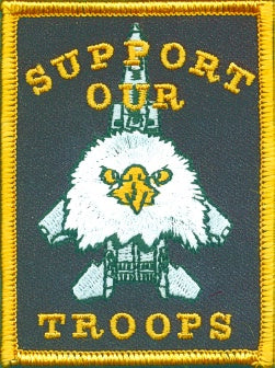 SUPPORT OUR TROOPS PATCH