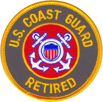 USCG RETIRED PATCH