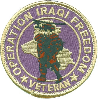 OPERATION IRAQI FREEDOM VET PATCH
