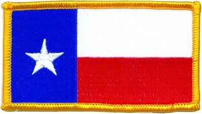 LG - TEXAS FLAG PATCH
