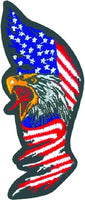 TALL EAGLE FLAG (Medium) PATCH - HATNPATCH