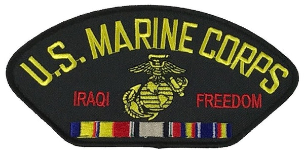USMC IRAQI FREEDOM VETERAN W/ COMBAT ACTION RIBBON PATCH