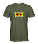 CH-54 SKY CRANE Vietnam Veteran T-Shirt - Large or Small Emblem - HATNPATCH