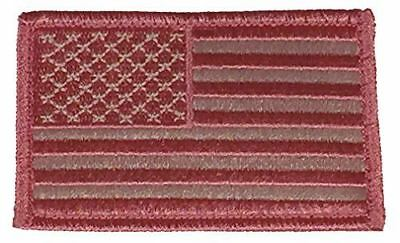 PINK AMERICAN US UNITED STATES FLAG PATCH HOOK AND LOOP BACKING PATRIOTIC GIRLIE - HATNPATCH