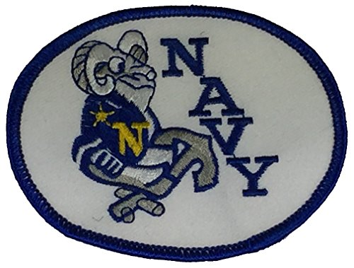 UNITED STATES NAVY CHIEF GOAT Patch - Color - Veteran Owned Business.