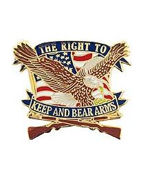Right To Keep Arms Pin - HATNPATCH