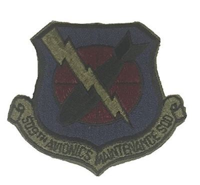 USAF 509TH AVIONICS MAINTENANCE SQUADRON PATCH VETERAN OD GREEN