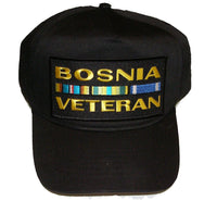 Bosnia Veteran w/Ribbons Hat - HATNPATCH