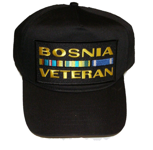 Bosnia Veteran w/Ribbons Hat