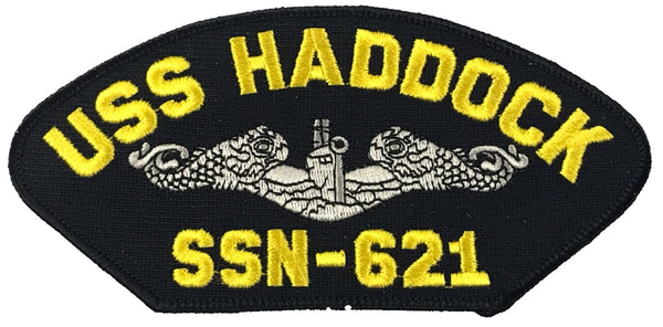 USS HADDOCK SSN-621 SHIP PATCH - GREAT COLOR - Veteran Owned Business