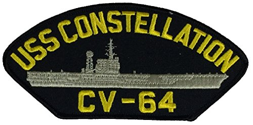 USS CONSTELLATION CV-64 PATCH - Multi-colored - Veteran Owned Business