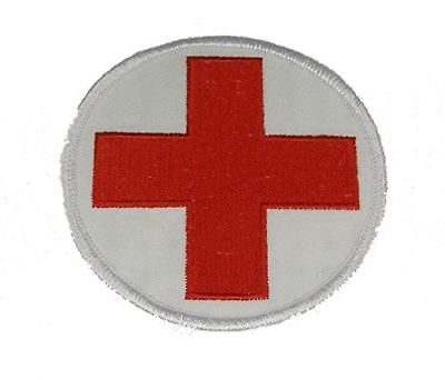 RED CROSS MEDICAL PATCH MEDIC DOC EMT PARAMEDIC MILITARY FIRST 1ST RESPONDER
