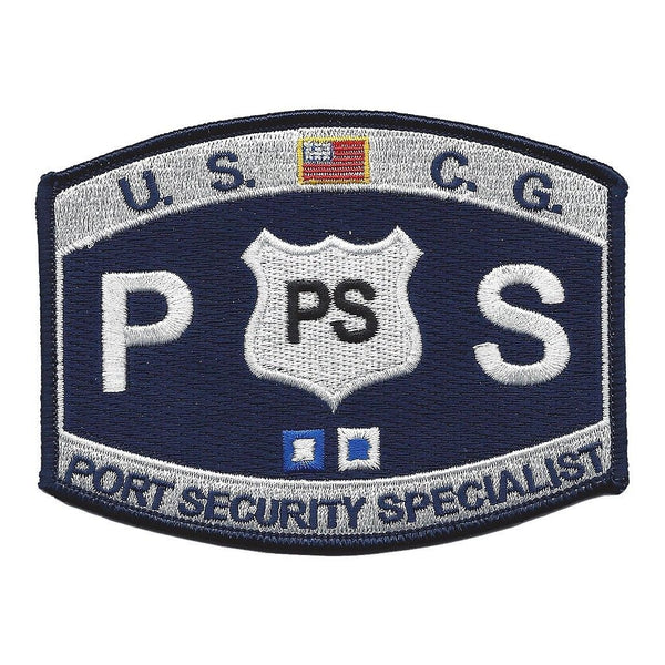 USCG COAST GUARD PORT SECURITY PS SPECIALIST MOS RATING PATCH COASTIE VETERAN - HATNPATCH