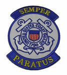 USCG COAST GUARD 1790 PATCH COASTIE SEMPER PARATUS MARITIME SECURITY DEFENSE - HATNPATCH