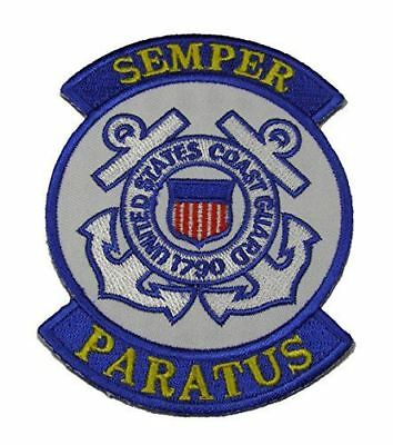 USCG COAST GUARD 1790 PATCH COASTIE SEMPER PARATUS MARITIME SECURITY DEFENSE