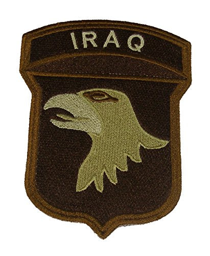 101ST AIRBORNE DIVISION IRAQ CAMPAIGN PATCH - Desert/Tan - Veteran Owned Business