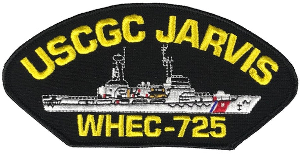 USCGC JARVIS WHEC-725 SHIP PATCH - GREAT COLOR - Veteran Owned Business - HATNPATCH
