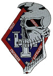 MARINE CORPS 1ST COMBAT ENGINEER BATTALION Patch - Vivid Colors - Veteran Owned Business.