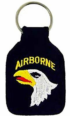 US ARMY 101ST AIRBORNE DIVISION SCREAMING EAGLES KEY CHAIN VETERAN FORT CAMPBELL
