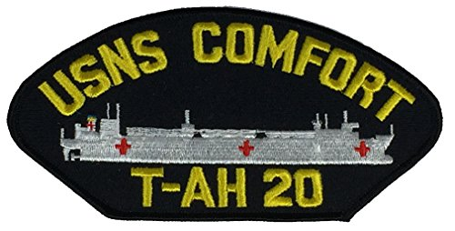 US Navy USNS COMFORT T-AH-20 PATCH - Veteran Owned Business - HATNPATCH