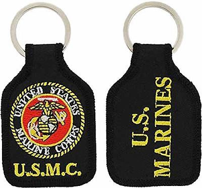 USMC MARINE CORPS OFFICIAL SEAL KEY CHAIN EAGLE GLOBE ANCHOR EGA SEMPER FIDELIS