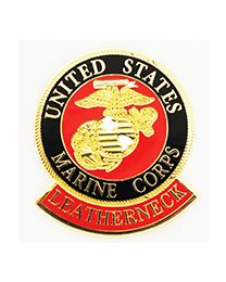 US Marine Leatherneck Pin