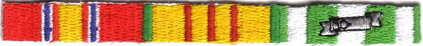 VIETNAM RIBBON SET PATCH