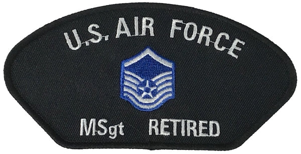 USAF MSGT RETIRED PATCH - HATNPATCH