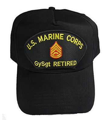 USMC GySgt Gunny E-7 RETIRED HAT