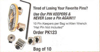 Pin Keeper - Pack of 10 - HATNPATCH