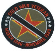 COLD WAR VETERAN PATCH - HATNPATCH
