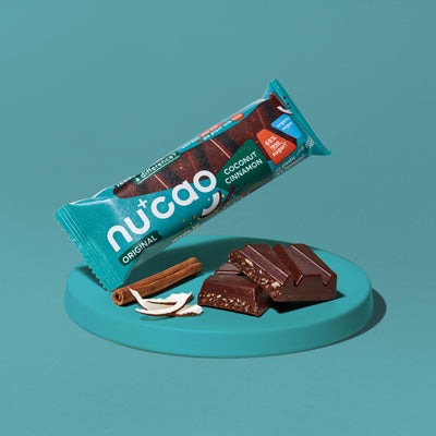 NUCAO COCONUT CINNAMON - ORGANIC VEGAN CHOCOLATE