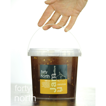 46° North - Jam - Pear & Chili - 1000ml