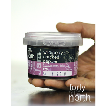 46° North - Jam - Wildberry & Cracked Pepper - 120ml
